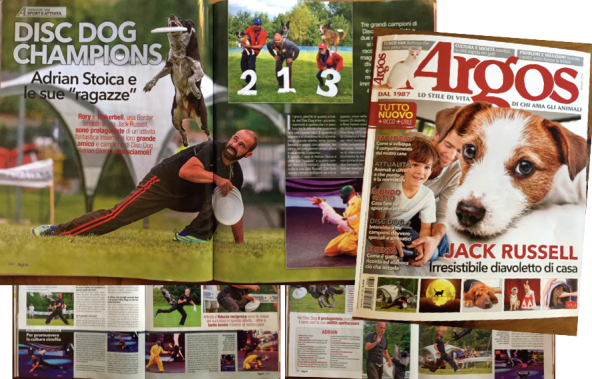 Adrian and Rory: Argos magazine