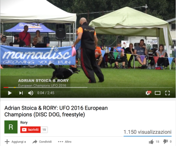 Adrian Stoica, Video UFO European Cup 2016