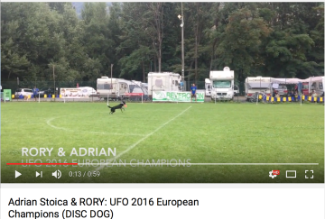 Adrian and Rory: DIstance, 5 bonus zone. UFO 2016 European Chamions